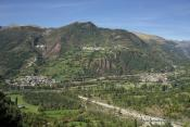 Vista de Plan, San Juan de Plan y Gistaín
